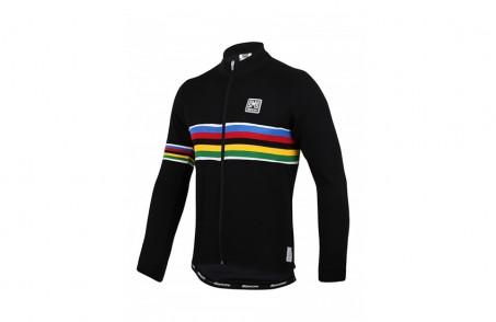 Santini UCI Long sleeve Wool Jersey  c04b5ef98
